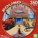 Doug's Bait and Tackle Shop by Mike Bennet - 350 Piece Round Jigsaw Puzzle