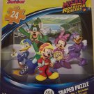 Mickey and the Roadster Racers 24 Piece Shaped Puzzle