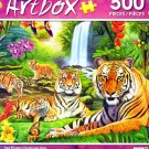 Tiger Paradise - Art Box - 500 Piece Jigsaw Puzzle