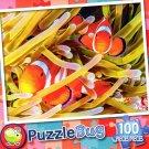 Pretty Clownfish - PuzzleBug - 100 Piece Jigsaw Puzzle
