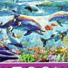 Dolphin Reef - 500 Piece Jigsaw Puzzle
