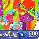 Colorful Sarongs for Sale - 500 Piece Jigsaw Puzzle Puzzlebug