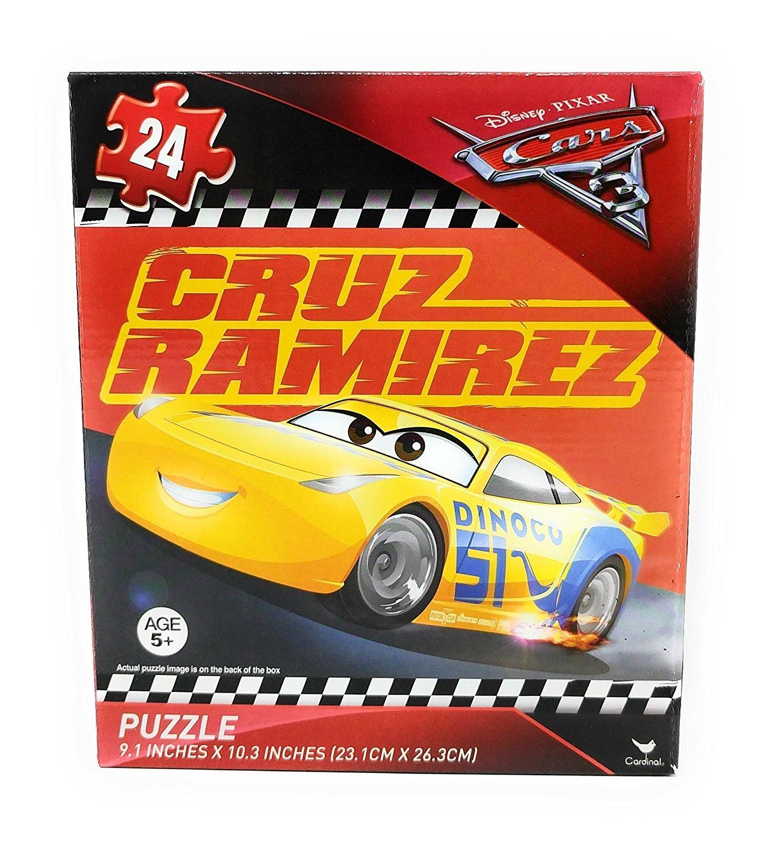 disney pixar cars 3 cruz ramirez 24 piece puzzle v7. Black Bedroom Furniture Sets. Home Design Ideas