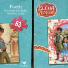 Disney Elena of Avalor - 63 Pieces Jigsaw Puzzle - (Set of 2 Puzzles)