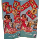 Kids Playtime Toddler Fun - Domino & Memory Match Game Puzzle 2 Piece SET Elena Avalor