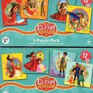Elena Of Avalor - 4 Puzzle Pack - 12 Piece Jigsaw Puzzle (Set of 4 Different Puzzles)