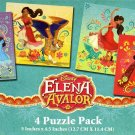 Elena Of Avalor - 4 Puzzle Pack - 12 Piece Jigsaw Puzzle v1