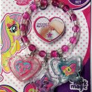 MY LITTLE PONY - Lipgloss Charm Bracelet Set