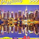 Manhattan at Night - 300 Piece Jigsaw Puzzle Puzzlebug