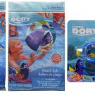 "Finding Dory Inflatable 20"" Beach Ball, Goggles Plus Arm Floats Play Set"