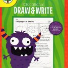 Educational Draw and Write - Reproducible Workbook - Grades 1 - 3