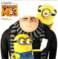 2018 Licensed Characters 12- Month Wall Calendars, 10x10 in. (Despicable Me)