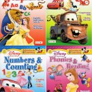 Disney Adventures in Learning Educational Activity Workbook (Pack of Four (4) Workbooks)