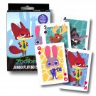 Zootopia Jumbo Card Game ~ Nick Wilde, Finnick, Judy Hopps, Mr. Big, and More!