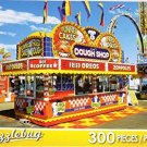 Florida State Fair Tampa Florida Food Concession - 300 Piece Jigsaw Puzzle by Puzzlebug