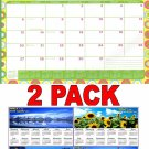 2017 - 2018 12 Months Student Calendar / Planner -  (Edition #1) + Bonus 2018 Magnetic Calendar