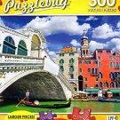 Ponte di Rialto with Traditional Gondola Under the Bridge - 300 Piece Jigsaw