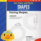 Cut, Trace, and Paste Shapes - Reproducible Educational Workbook