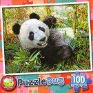 Cute Giant Panda - PuzzleBug - 100 Piece Jigsaw Puzzle