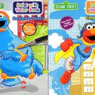 Sesame Street Paint With Water Books with Paint Brush (2 Books Set)