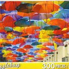 Street Decorated with Colored Umbrellas, Getafe, Spain - Puzzlebug 300 Piece