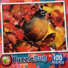 PuzzleBug 100 Piece Puzzle - Red Robin by LPF