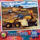 PuzzleBug 100 Piece Puzzle - Construction Site by LPF