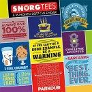 2017 Snorg Tees Calendar - 12 x 12 Wall Calendar
