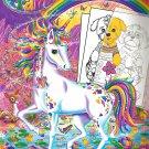 Lisa Frank Color & Trace [Staple Bound] [Jan 01, 2014] Lisa Frank
