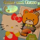 Hello Kitty: Color And Trace (32 Coloring Pages And 16 Tracing Pages)