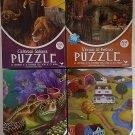 CARDINAL PUZZLES SET OF 4 X 500 PIECE PUZZLES:Set of 4.