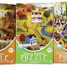 New Americana Venice Jazz Puzzles - Beautiful Colorful 500 Piece Jigsaw Puzzle Set of 3