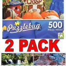 Colorful Signs in the Country Market - 500 Piece Jigsaw Puzzle  + Bonus 2017 Magnetic Calendar