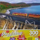 PuzzleBug 300 Piece Puzzle ~ Train Crossing Agawa Canyon, Sault Ste. Marie, ON - New Larger Pieces