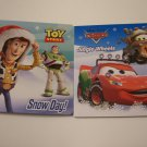 Disney Cars and Disney Toy story Christmas Board Book .Set of 2