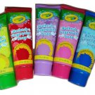 Crayola Bathtub Fingerpaint Soap Vivid Violet Electric Lime Green Radical Red Raspberry
