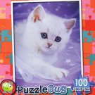 PuzzleBug 100 Piece Puzzle ~ Cuddle Kitten