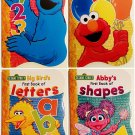 Sesame Street Numbers with Big Bird Set of 4