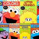 Sesame Street Early Learning Bundle Flash Cards Work Books ABC's, Colors Shapes, Numbers