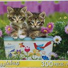 Puzzlebug 300 Piece Puzzle ~ Kittens in the Garden by Puzzlebug