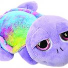Plush Toy with Tie Dyed Material (Medium, Purple)