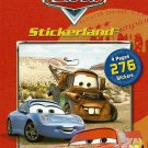 Disney Cars 276 stickers 4 pages