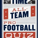 All-Time, All-Team Pro Football Quiz by Marcus, Jeff(July 9, 2014) Paperback