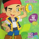 Disney Jake and the Neverland Pirates Sticker Book to Color - I Spy Eggs