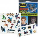 DC Comics BATMAN Glow in the Dark Temporary Tattoos by Savvi