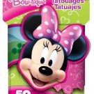 Minnie Mouse Bow-tique 3D Novelty Pack of 50 Temporary Tattoos by Savvi