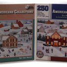 2 Different 250 Piece Puzzles, Once Upon A Winter and Our Beloved Teachers