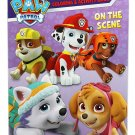 Paw Patrol On the Scene Jumbo Coloring and Activity Book
