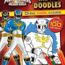 By Parragon Books Power Rangers Megaforce: Mega Doodles