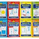 School Zone Spanish English Bilingual Flash Cards 8-Pack